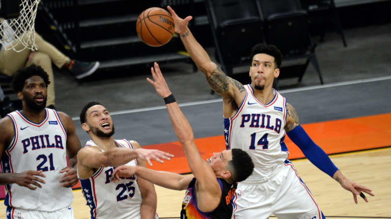 Sixers' Danny Green Thinks Patience Will Help Ben Simmons