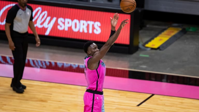 Victor Oladipo Comfortable in Debut With the Miami Heat