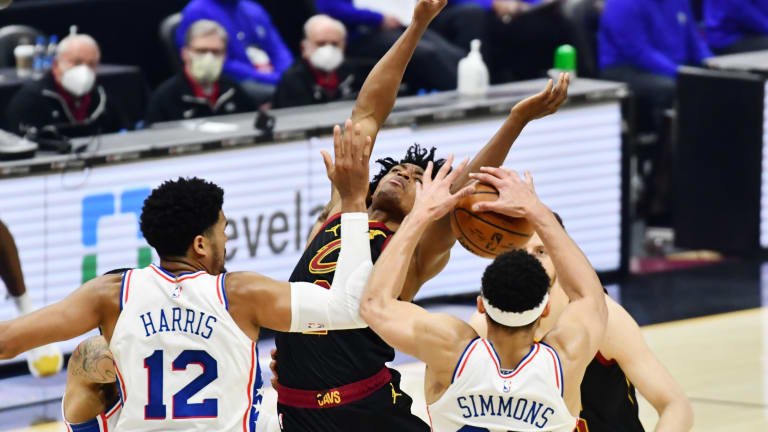 Tobias Harris, Dwight Howard Praise Sixers Bench After Win vs. Cavs