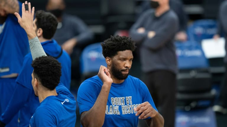 Sixers' Dwight Howard Sees Positives in Joel Embiid's Time Off