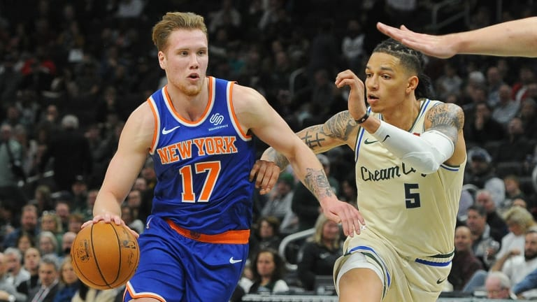 Ignas Brazdeikis Describes Positive First Impressions of Sixers