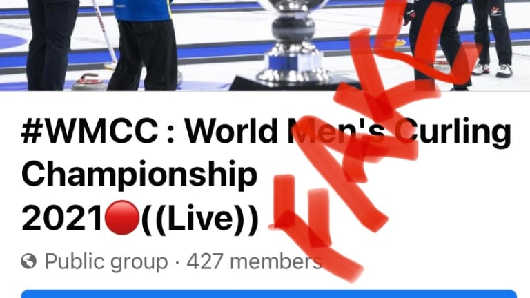Facebook Curling Fan Scam Alert