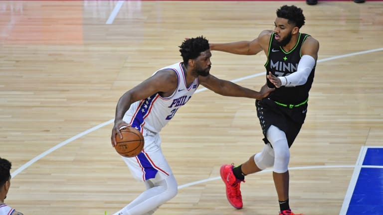 Sixers' Joel Embiid Judges His First Game Back Since Knee Injury