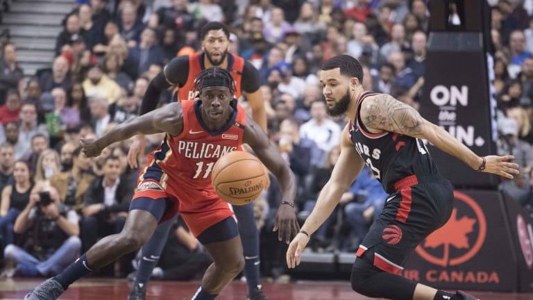 Jrue Holiday's Contract Should Have Raptors Front Office Smiling About Fred VanVleet's Deal
