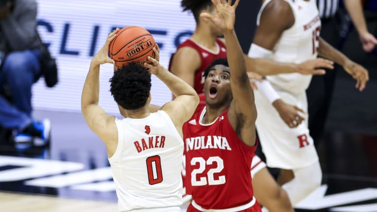 Next Up: Indiana's Jordan Geronimo Says He's Staying With the Hoosiers, Too