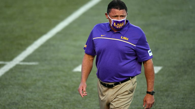 LSU Coach Ed Orgeron Pens Letter Declining to Appear in Court