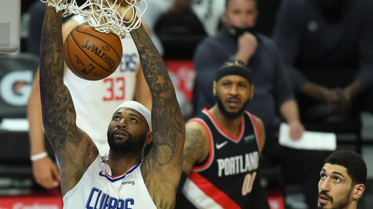 DeMarcus Cousins Says He's In Best Shape Of His Career With Clippers