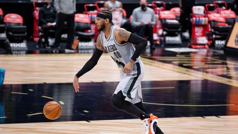Paul George Talks Idolizing Carmelo Anthony's Game Growing Up
