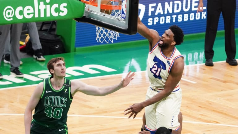 Sixers' Joel Embiid is in Full On Attack Mode After Win vs. Celtics