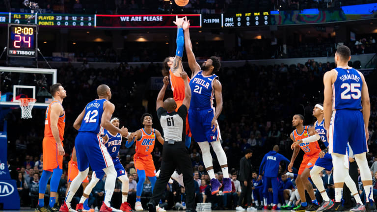 76ers vs. Thunder: How to Watch, Live Stream & Odds for Saturday Night