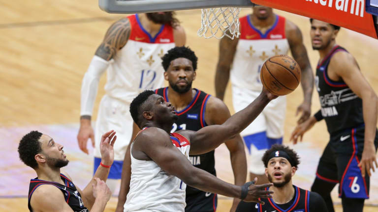 Sixers Admit Mental Weakness Contributed to Loss vs. Pelicans