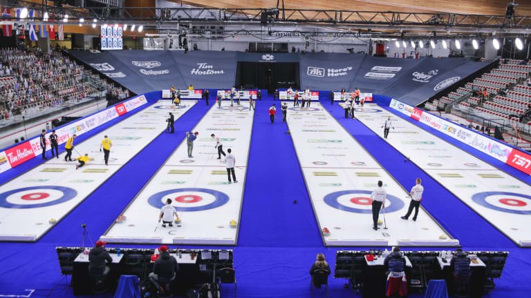 Positive Test Results Prior to World Women's Curling Championship