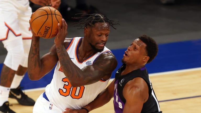 Raptors' Strange Season Continues with Rain Delayed Loss to the Knicks