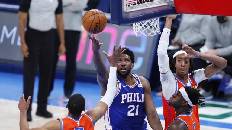 Philadelphia 76ers: Player Grades for Back to Back vs. Pelicans, Thunder