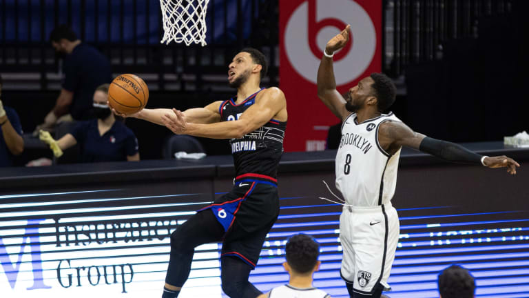 Sixers' Ben Simmons Highlights Brooklyn Nets' Defensive Struggles