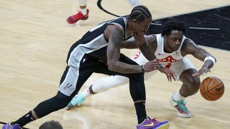 Raptors Wrap Up Exhausting Stretch with DeMar DeRozan & Spurs