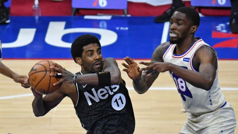 Nets' Kyrie Irving Issues Props to 76ers After Wednesday's Game