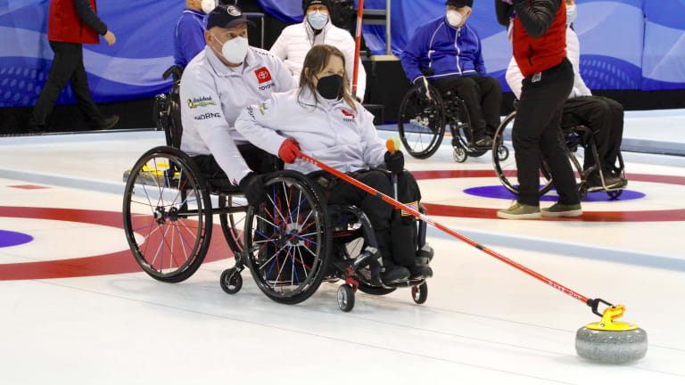 U.S. Qualifies for Wheelchair Curling Worlds