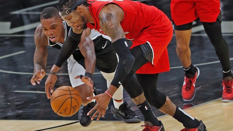 Blazers Fight Back For One-Point Win Over Spurs