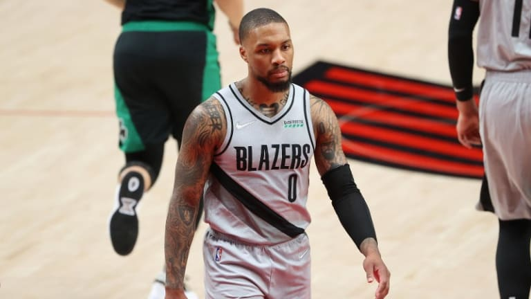 Damian Lillard To Miss Second Straight Game With Hamstring Injury