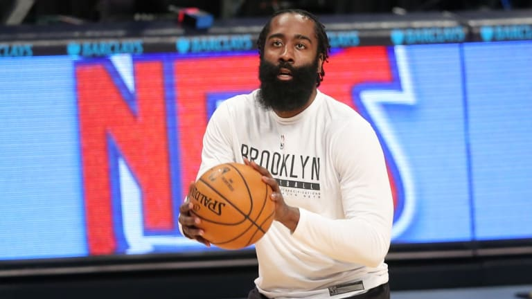 Joel Embiid Credits James Harden for Adjusting His Game With Nets