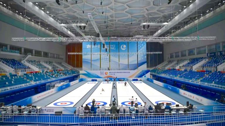 Beijing Curling Test Events Complete