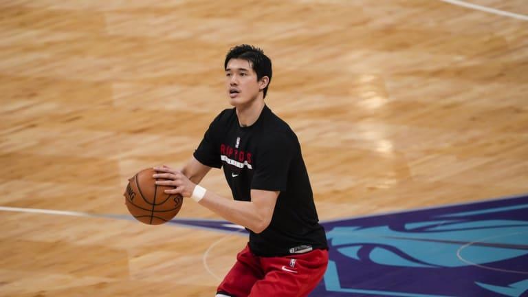 Raptors Sign Yuta Watanabe to Standard Contract