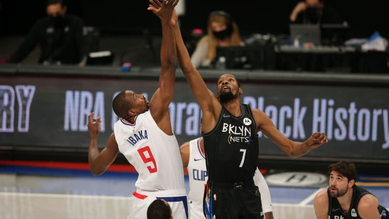 Kevin Durant Says Serge Ibaka is One of the Best Players He's Ever Played With
