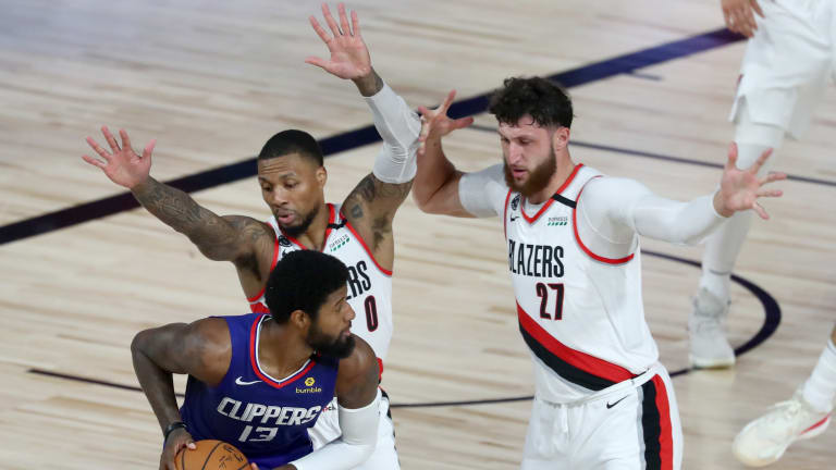 Damian Lillard and Jusuf Nurkic Both OUT vs. LA Clippers