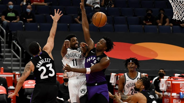 Raptors Stay Hot vs. Nets to Make it 4 Straight Wins