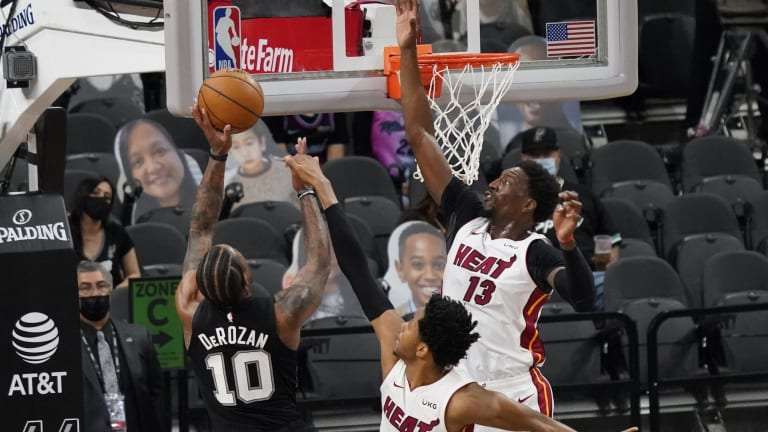 At Full Strength, Miami Heat Roll Past San Antonio Spurs
