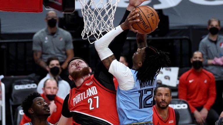 Blazers' Close Loss To Grizzlies Spoils Jusuf Nurkic's Huge Night