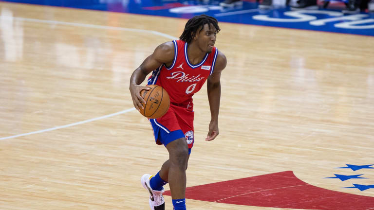 NBA Rookie Tyrese Maxey Credits Sixers' Village of Vets for Helping His Growth
