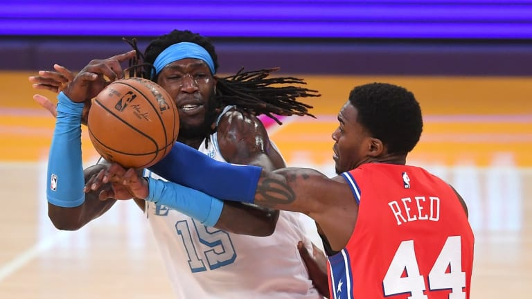 76ers Rookie Paul Reed in NBA's Health and Safety Protocol
