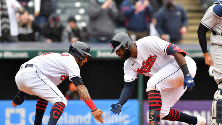 Reyes Sparks Indians Comeback to Avoid Sweep by the Yankees, Tribe Wins it 7-3