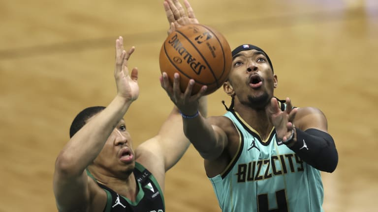 Devonte' Graham gets it going offensively, leads Charlotte Hornets past Boston
