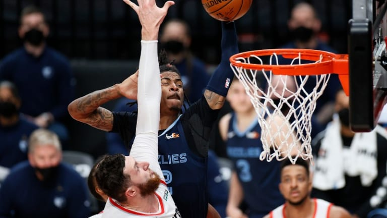 Blazers Miss Out On Crucial Tiebreaker With Another Dispiriting Loss to Grizzlies