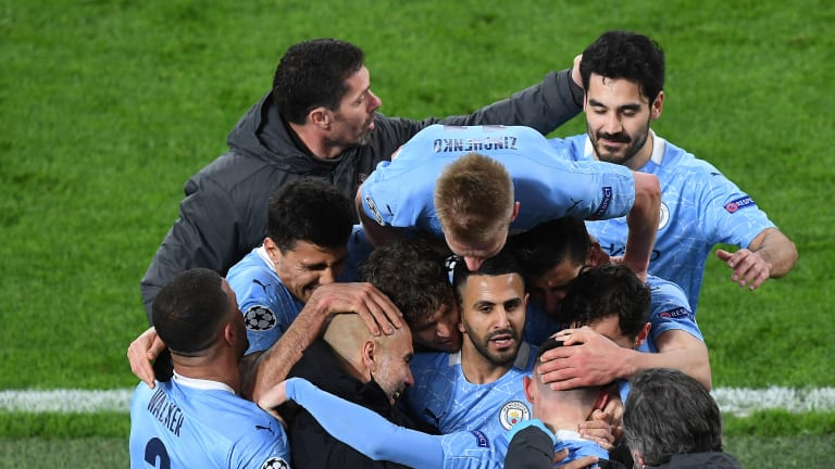 """""""You can never imagine that happening..."""" - Riyad Mahrez looks ahead to returning to Paris with Man City in Champions League"""