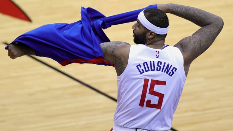 DeMarcus Cousins Reacts To Signing With LA Clippers
