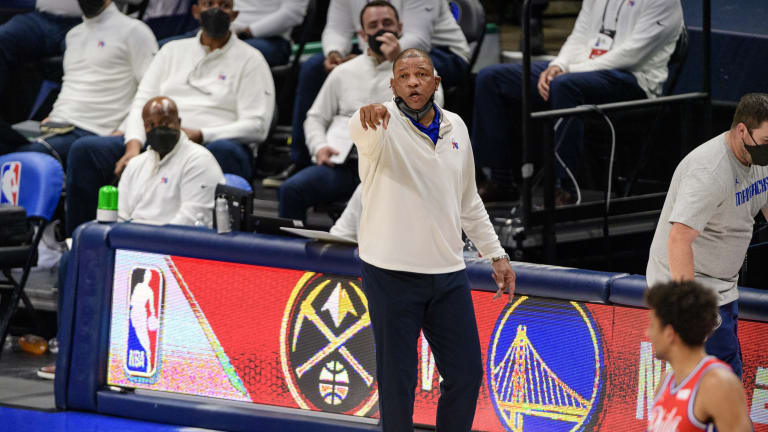 Doc Rivers Wasn't Worried About Sixers' Losing Streak