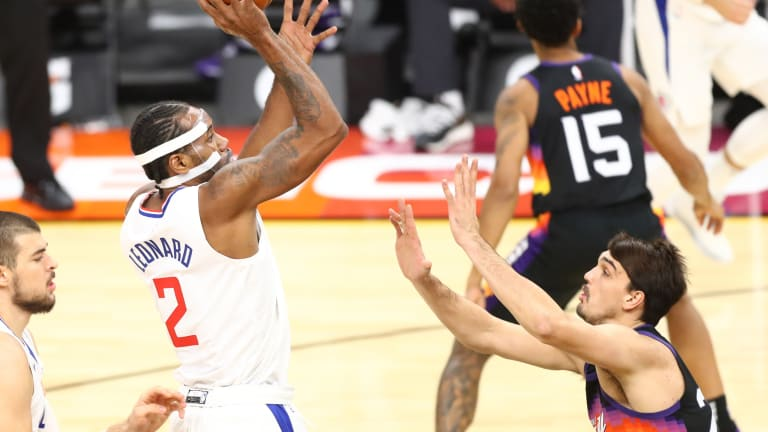 LA Clippers Star Kawhi Leonard (Foot) Doubtful to Play in Showdown with Suns
