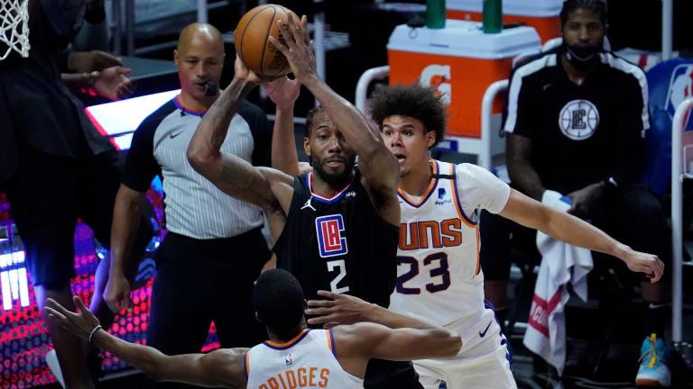 LA Clippers Star Kawhi Leonard (Foot) OUT vs. Phoenix Suns