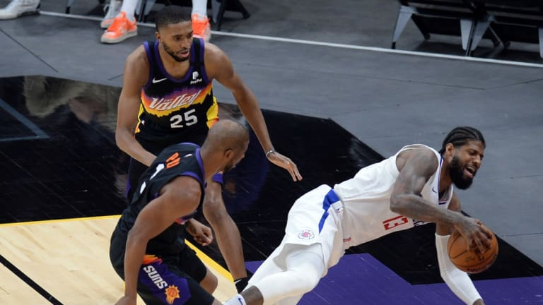 Paul George and Chris Paul Seem to Have Beef