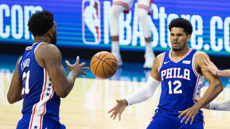 Sixers' Joel Embiid, Tobias Harris Aren't Celebrating After Clinching Playoff Berth
