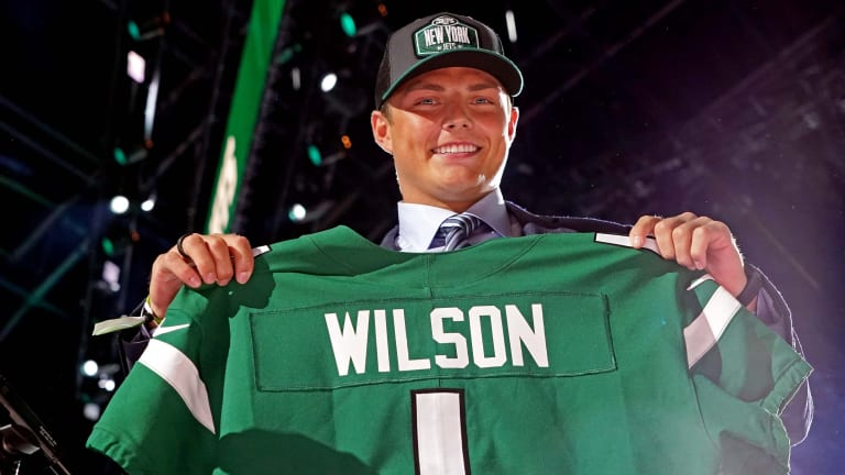 Six Takeaways From Zach Wilson's First Presser With the New York Jets