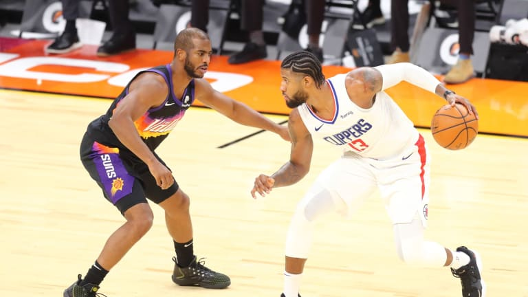 VIDEO: Paul George and Chris Paul Don't Shake Hands After Clippers-Suns Game