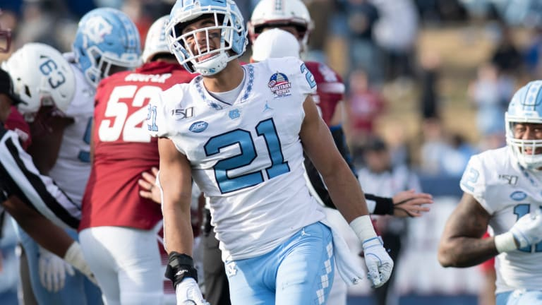 Vikings Select UNC Linebacker Chazz Surratt With No. 78 Pick in 2021 NFL Draft