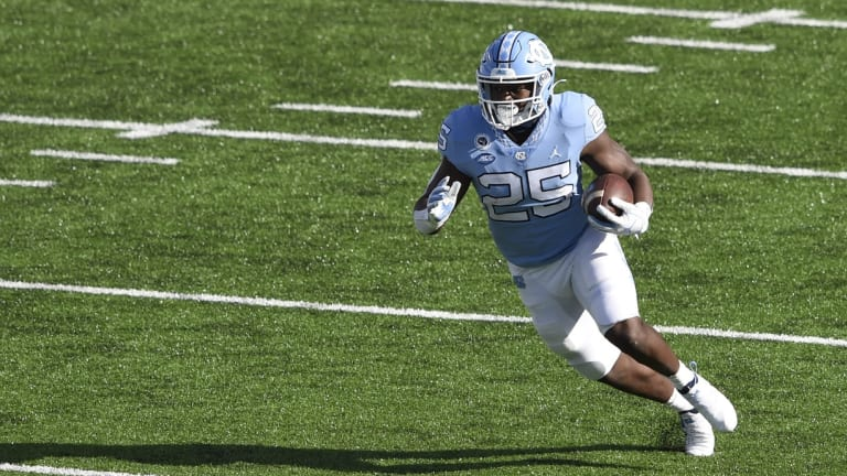 Did the Jets Make a Mistake Not Picking North Carolina RB Javonte Williams 34th Overall?