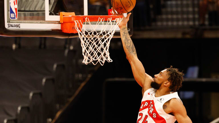 Khem Birch Is Coming Up With Ways to Make Himself More Useful When the Playoffs Start