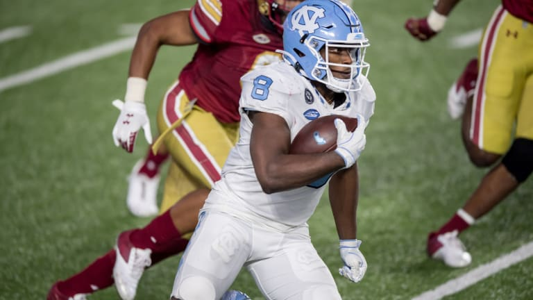 New York Jets Select North Carolina RB Michael Carter With No. 107 Pick in 2021 NFL Draft